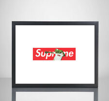 Supreme x Kermit The Frog 11x17 Poster Print Box Logo Wall Art Home Decor