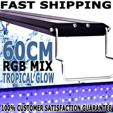 Biopro Aqua Aquarium Fish Tank Tropical Glow RGB Mix LED Colour Light 60cm 2FT