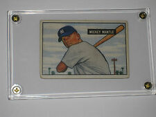 1951 BOWMAN MICKEY MANTLE ROOKIE #253