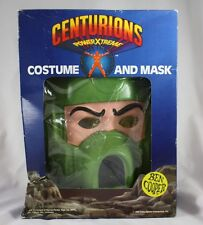 Vintage Centurions Max Ray Costume and Mask Ben Cooper Halloween Power Xtreme