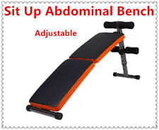 Adjustable Sit Up Abdominal Bench Press Weight Gym Ab Exercise Fitness
