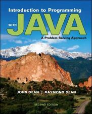 Introduction to Programming with Java : A Problem Solving Approach by Raymond De