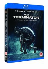 The Terminator [Blu-ray] Arnold Schwarzenegger James Cameron BRAND NEW REGION B2