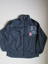 Next Boys England Navy Blue Shell Sports Jacket Age 11-12 Years - Good Condition