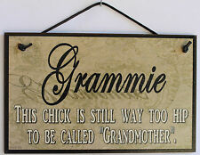 Grammie s Sign Paisley Grandma Hippy Hippie Woodstock 1960 1970 Folk Mom Retro