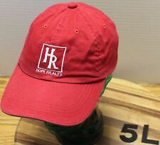 HOPE REALTY COEUR D' ALENE IDAHO HAT RED ADJUSTABLE IN VERY GOOD CONDITION