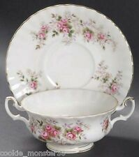 Royal  Albert  Lavender Rose  Soup  Bowl  Set  x 6  RARE