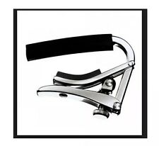 SHUBB C1 POLISHED NICKEL FINISH ACOUSTIC/ELECTRIC GUITAR CAPO SC1N