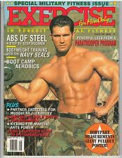 EXERCISE FOR MEN ONLY bodybuilding muscle magazine/ MILITARY FITNESS ISSUE 8-97