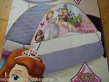 New Sofia The First Disney Princess Twin Bedroom Tent + Push Light * Clothes Toy