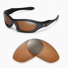 New Walleva Polarized Brown Lenses For Oakley Monster Dog Sunglasses