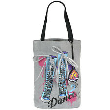 Shake It Up Jersey Tote Bag - Grey DANCE CeCe, Rocky NWT