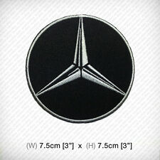 New MERCEDES BENZ logo Embroidered Patch Iron on or sew Top Class Racing SPORTS