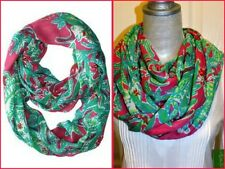LILLY PULITZER RILEY INFINITY LOOP SCARF NWT CAPRI PINK TRUNK SHOW