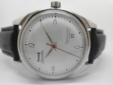 hmt janata hand winding gents steel vintage india made watch run order -sk09