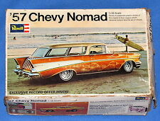'57 CHEVY NOMAD---VINTAGE 1969 REVELL 1/25 SCALE MODEL KIT IN OPENED BOX!!!