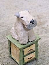 New listing Soft Coated Wheaten Terrier on a Small Chest!