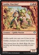 Condottiero Goblin - Goblin Warchief MTG MAGIC DD SvC Speed vs. Cunning Eng