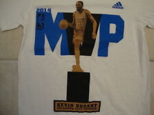 NBA Oklahoma City Thunder Kevin Durant 35 Basketball Fan 2014 adidas T Shirt S