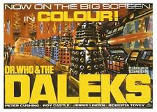 """DR DOCTOR WHO & THE DALEKS"" (Peter Cushing) - Full size US Movie Film Poster"