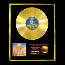 IRON MAIDEN POWERSLAVE CD GOLD DISC LP FREE P+P!