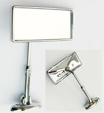 Classic or Vintage Car Adjustable Interior Mirror with Chrome Back