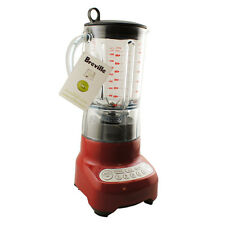 Breville BBL605CBXL Hemisphere Control Electric Blender Cranberry Red New