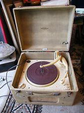 Tourne disque Platine Collaro RC54 Record Player Portogram