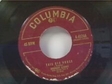 """ROSEMARY CLOONEY """"THIS OLE HOUSE / HEY THERE"""" 45"""