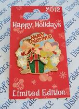 Disney Dopey and Grumpy Happy Holidays Merry Christmas 2012 LE 2000 Slider Pin