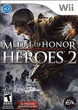 New Medal of Honor: Heroes 2 WII  *Sealed*
