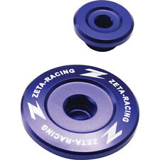2000+ DRZ400SM DRZ400-SM 400SM ZETA Engine Cover Site Hole Plugs BLUE ZE89-1352