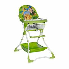Lorelli Baby Feeding High Chair Seat Green Jungle Bear Foldable Child Infant