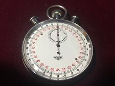 Heuer Mechanical Split Second  vintage Stop Watch 15 Jewels