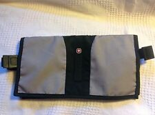 Wenger Swiss Army Double Pocket Money Belt Tourist Travel Waist Pouch Elastic