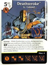 Green Arrow Flash ~ DEATHSTROKE Lt. Colonel #91 rare DC Dice Masters card