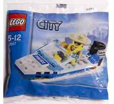 Lego City Town Mountain Police Set 30017 Police Boat Marine Limited Release NISB