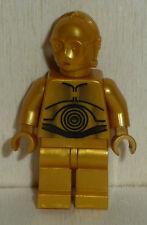 Nr.3728 Lego sw161a   Minifig Star Wars C-3PO pearl gold