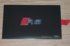 2015 brochure set Audi R8 V10 and V10 plus