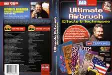 AIRBRUSH ACTION DVD - ULTIMATE AIRBRUSH TECHNIQUES WITH TERRY HILL