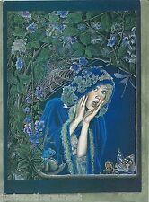 Illustration Art Print Greeting Card of Velvet Rose Book Balderdash Ed Gedrose
