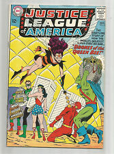 "JUSTICE LEAGUE OF AMERICA #23: Silver Age Grade 7.0 ""Drones Of The Queen Bee""!!"