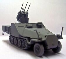 Milicast G285 1/76 Resin WWII German Armoured SdKfz 11 w/Flugawehr 20mm MG151/15
