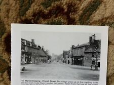 r5 ephemera reprint picture 1900s market deeping church street