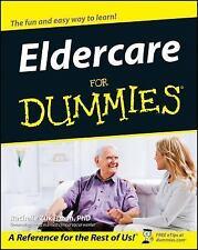 Eldercare For Dummies, Zukerman, Rachelle, Good Book