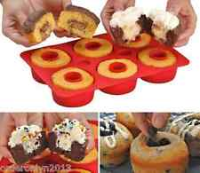Cupcake with Filling Insert Non-stick Silicone Mould Pan Cake Bakeware Maker