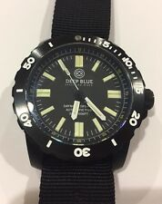 Deep Blue Daynight OPS PRO T100 Automatic Dive Watch, Ceramic Bezel, 300M