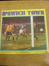 06/03/1971 Leicester City v Arsenal [FA Cup] (Attendance Noted On Cover, Subs &