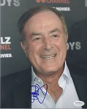 AL MICHAELS SIGNED TEAM USA HOCKEY GOLD MEDAL 8X10 PHOTO AUTOGRAPH JSA