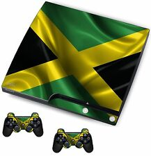 Jamaica Sticker/Skin PS3 Playstation 3 Console/Remote controllers,psk5